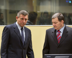 Ante Gotovina & Mladen Markac, Photo: Guardian