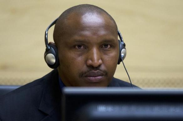 Bosco Ntaganda at the International Criminal Court. Source: ICC