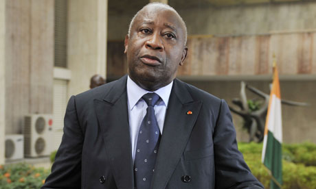 Laurent Gbagbo, photo: Guardian