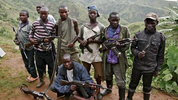 FDLR combatants in the DRC, photo: RFI