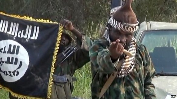 Abubakr Shekau, leader of Boko Haram (photo: AFP)